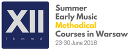 SUMMER EARLY MUSIC METHODICAL COURSES